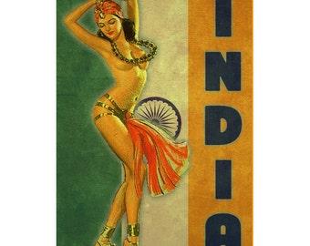 INDIA 1PS- Handmade Leather Photo Album - Travel Art