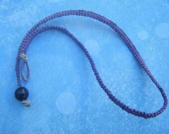 Purple Hemp Choker
