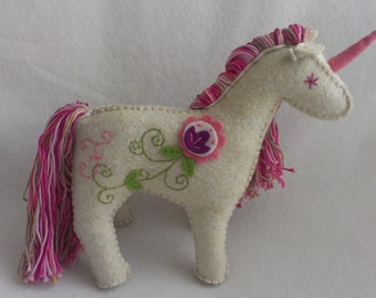 Unicorn with monogram - 3