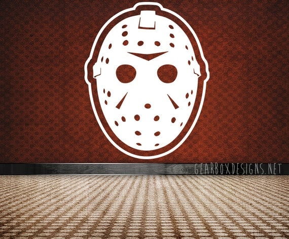 Items Similar To Friday The 13th Jason Vorhees Hockey Mask