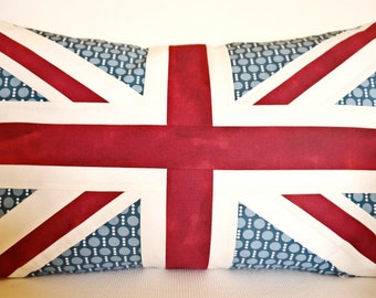 Patchwork Union Jack Pillowcase