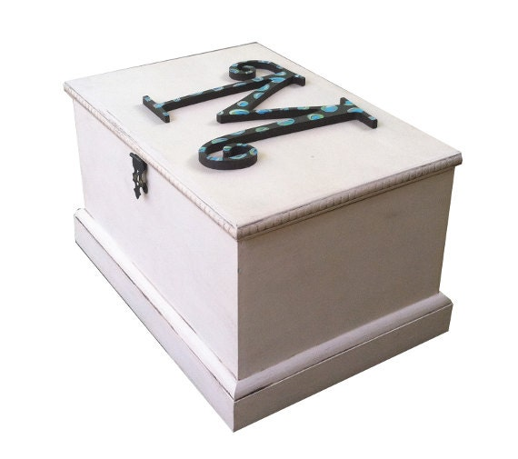 wooden storage box with secret compartment