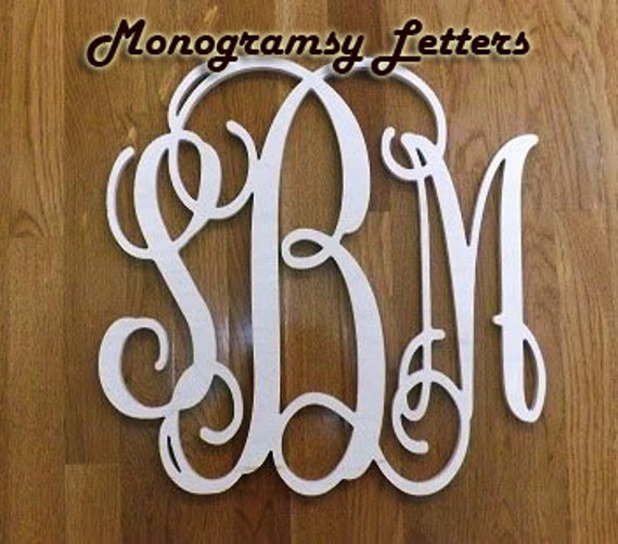 35 inch wooden monogram letters for 36 inch wooden letters