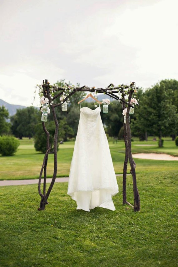 Rustic Wedding Arch By Molliele On Etsy
