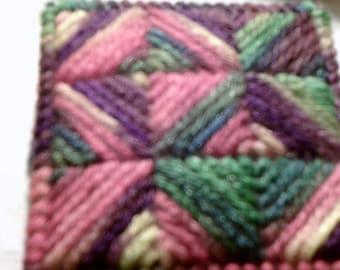 Plastic Canvas: Pin Cushion, Multiple Color
