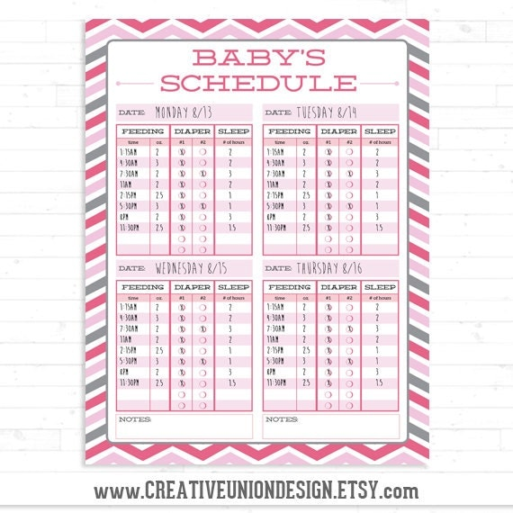 Twin schedule twin feeding schedule breast feeding twin schedule twin feeding schedule breast feeding schedule baby schedule baby sleep schedule print at home instant download pronofoot35fo Choice Image