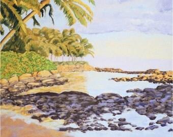 Tropical Hawaiian Greeting Card Collection