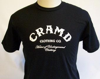 T Shirt CRAMD CBGB Tribute T-Shirt American Apparel Tshirt Unisex Tee Shirt Mens Womens Cool Funny College Celebrity Trendy Phrase Rock