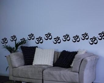 Om Symbol Wall Art Decal Pack