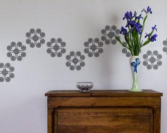 Swirl Wall Art Decal Pack