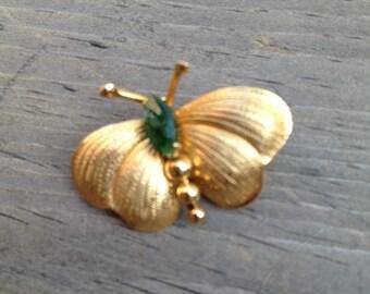 Vintage Winard 12K Gold-Filled Butterly Pin