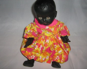 Vintage Rosebud Doll - Made In England.