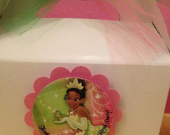 Princess and the frog, Princess Tiana, Princess Tiana tags, princess tiana cupcake toppers 12- Ready-to-Ship Tags