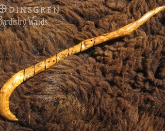 Odinsgren handmade norse futhark rune pagan legend magic for Elder wand runes