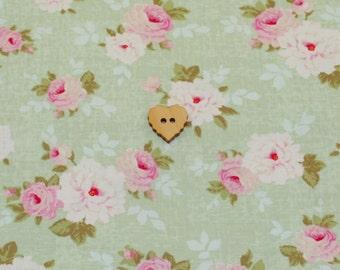Tilda Fabric - Pernille Mist Green - Metric Fat Quarter (FQ)