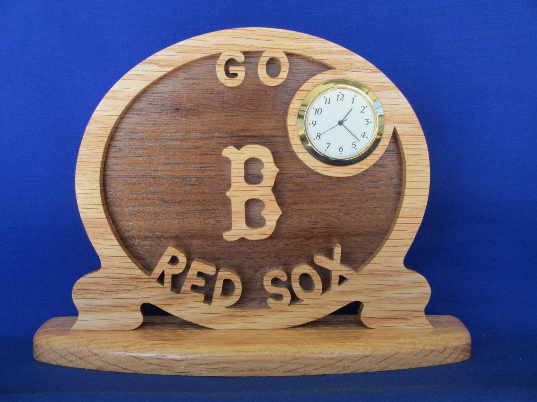 Red Sox Desk Clock Clock Housewares Zeppy Io