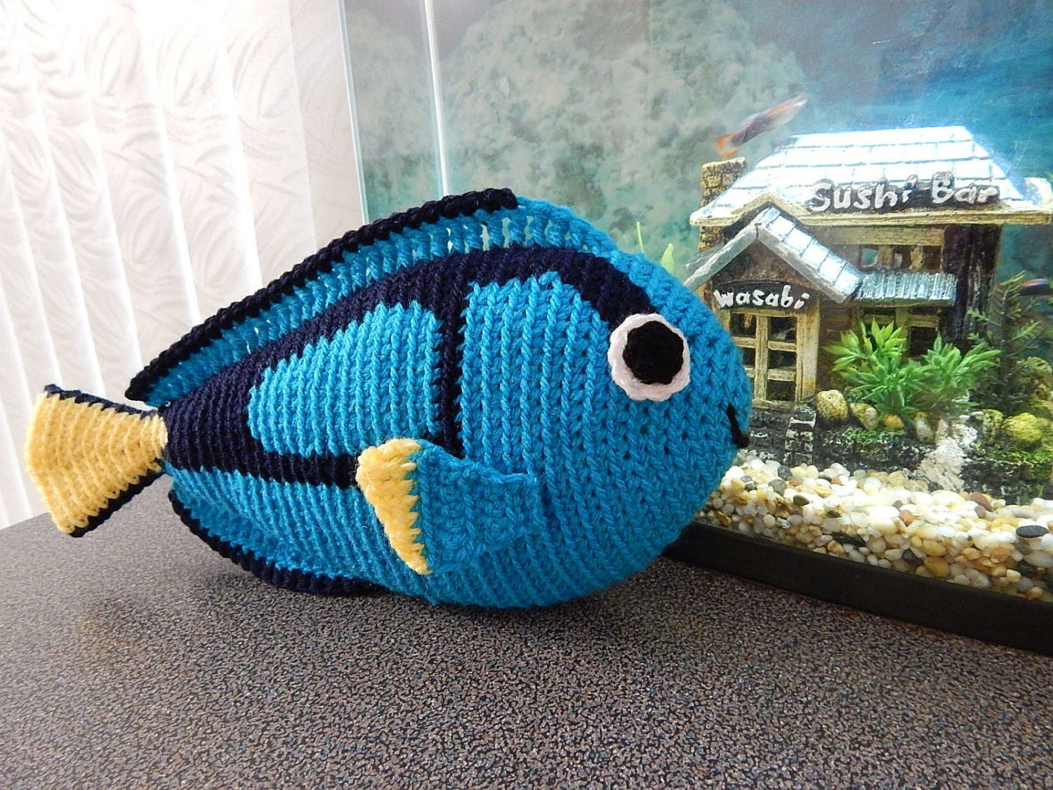 Amigurumi Crochet Pattern Blue Tang Pattern No.08