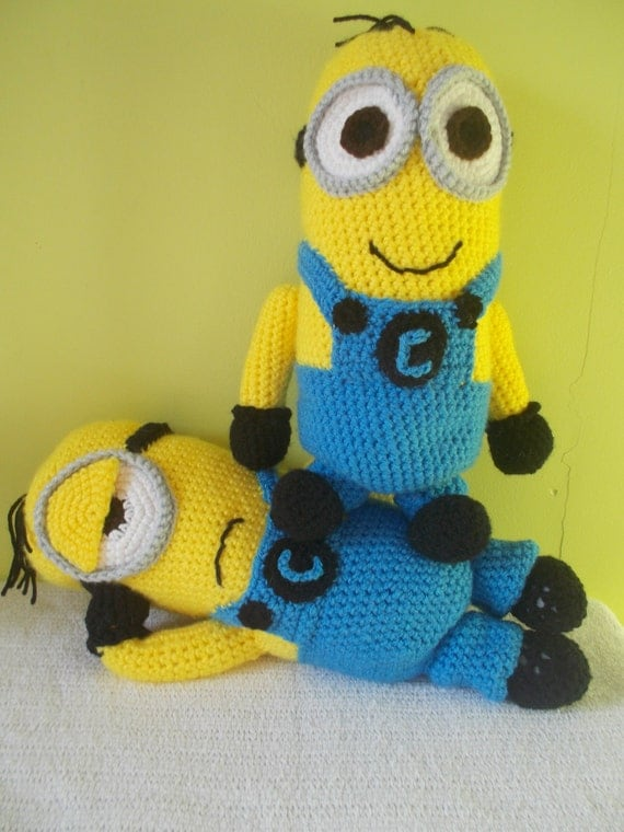 Amigurumi Minion Etsy : Items similar to MINION INSPIRED PATTERN - Instant ...