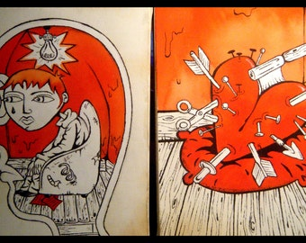 """Incubus """"Dig"""" Artwork Series - Wall Art"""