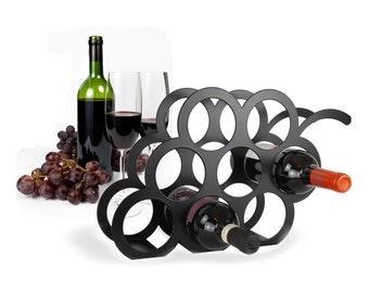 Grape Wine Storage Rack By Themetalhouse On Etsy