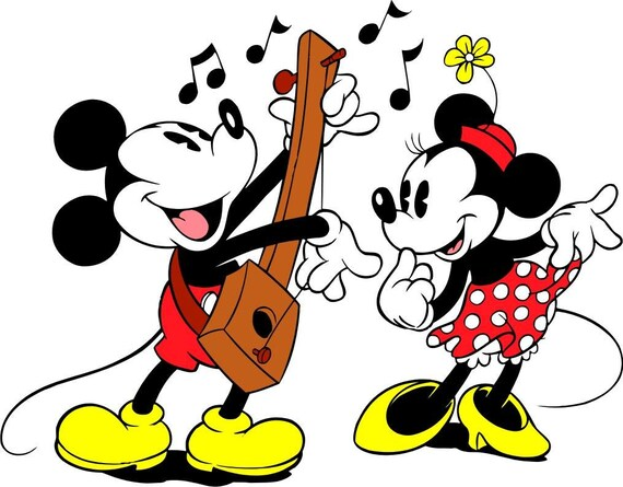 Counted Cross Stitch Pattern Disney Vintage Mickey And