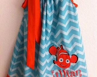 finding nemo pillowcase dress