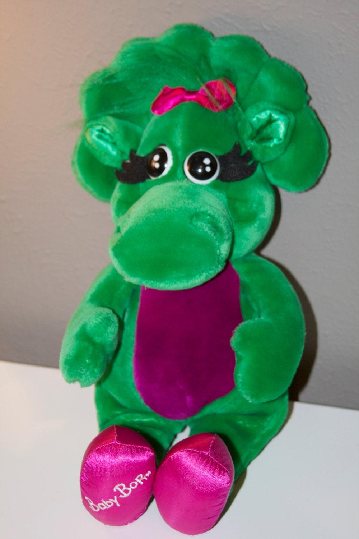 Barney Baby Bop Plush Toy 1992