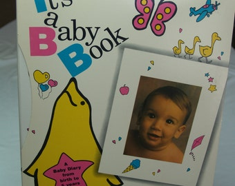 Vintage Baby Record Book for up to 5 years