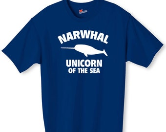 Narwhal Unicorn Of The Sea Funny Shirt
