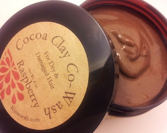 Rhassoul Clay Cowash: Featured on NaturallyCurly.com. 2-in-1 Cleanser and Conditioner great for dry or damaged hair.