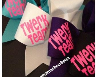 Twerk Team Cheer Bow