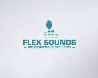 Custom Business Recording Studio Logo Design & Business Cards