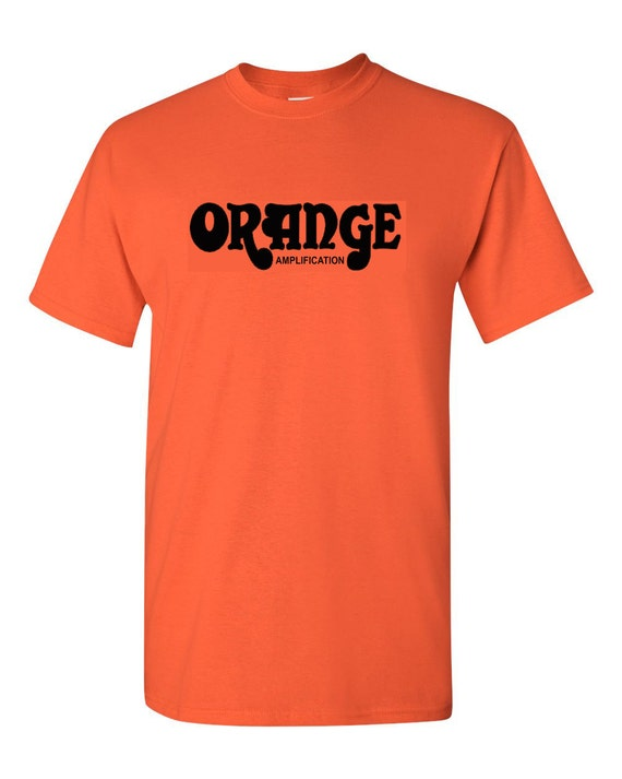 orange amplification t shirt classic rock amp tee by zappatee. Black Bedroom Furniture Sets. Home Design Ideas