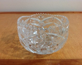 Beautiful Crystal Candy Bowl