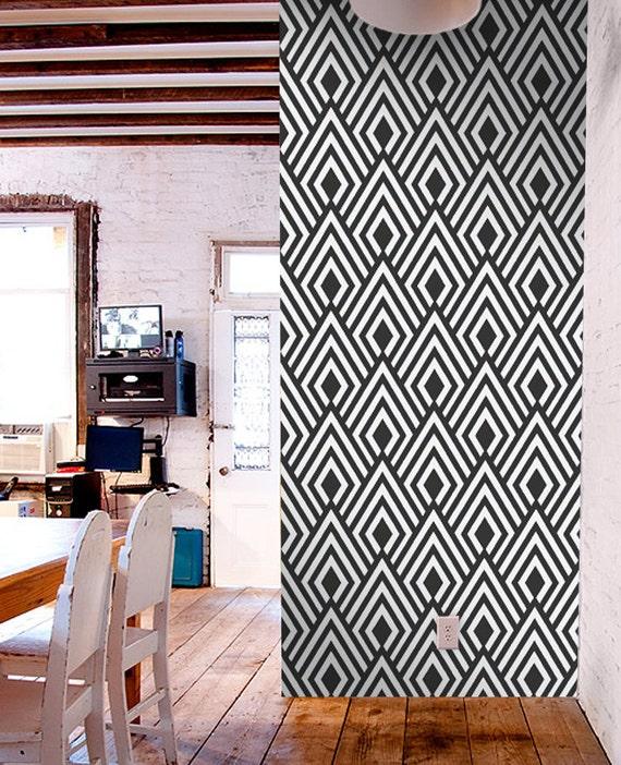 Removable self adhesive modern vinyl wallpaper wall sticker for Temporary vinyl wallpaper