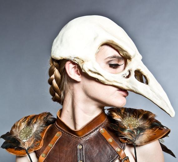 Bird skull mask in Bon...