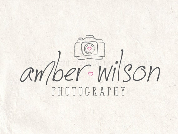 photography logo design photography watermark camera logo etsy