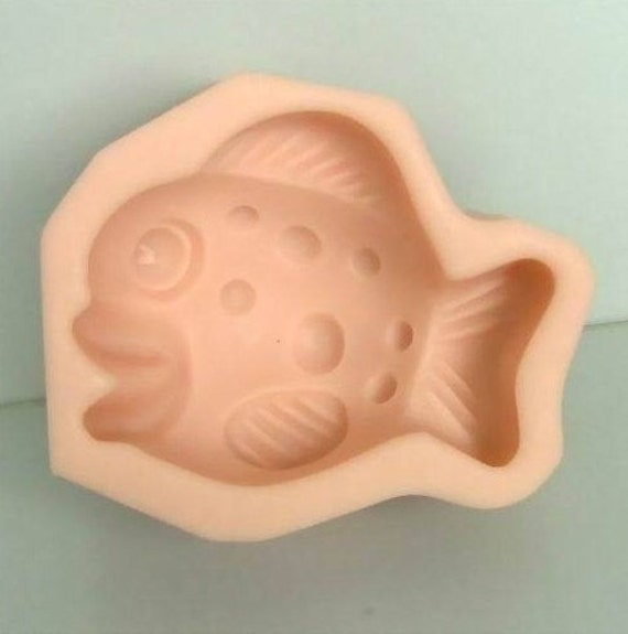 Nemo fish flexible silicone mold silicone mould candy mold for Silicone fish molds