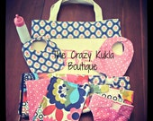 Little Mama Fully Stocked Baby Doll Diaper Bag