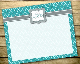 Personalized Dry Erase Board - Monogram Organization Board - Custom Memo Board