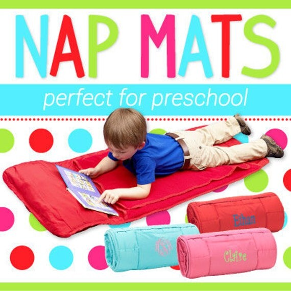 preschool nap nap mats for toddlers by alexismonogram on etsy 822