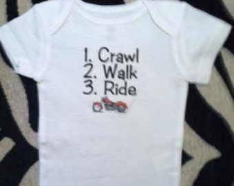 motorcycle baby one piece,  infant motorcycle bodysuit, motorcycle shower, motorcycle baby gift, baby loves motorcycles, biker baby boy
