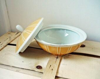 Vintage ceramic bowl, Hollohazi porcelain, Hungarian ceramic, 1970s