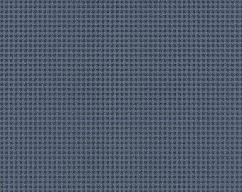 Wallpaper Remnant 27 W X 25 Small Blue Gingham Check