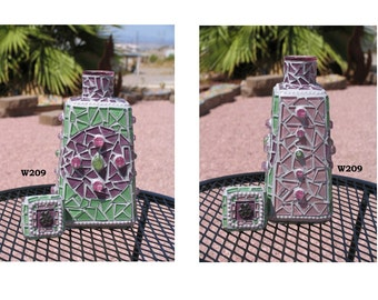 Mosaic Tequila Mosaic Bottle Great  for your Home in your Bar W209