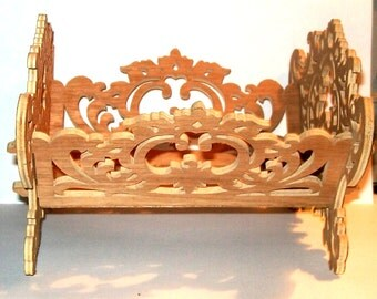 Little Wooden Basket 8.00 wide, 7.75 long 5.00 tall