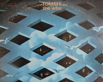 Tommy - The Who vinyl record with booklet