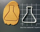 Beaker Science Tools Glassware Cookie Cutter Made to order I0117