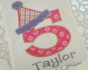 It's My Birthday Personalized Number Shirt or Bodysuit - Long Sleeves