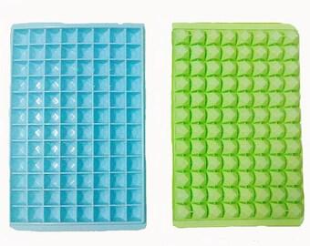 96-Diamond Flexible Ice Tray Ice Mold Flexible Silicone Mold diy Mold in Handmade